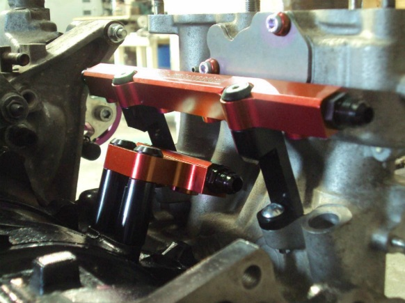 Rx7 Fd3s Billet Primary Top Feed Rail